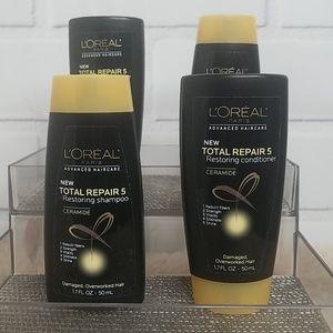 LOREAL   Total Repair 5 Shampoo/Conditioner